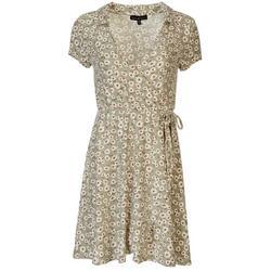 Juniors Wrap Dress