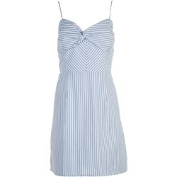 Derek Heart Juniors Striped Spaghetti Strap Dress