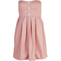 Derek Heart Juniors Smocked Dress