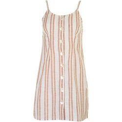 Derek Heart Juniors Sleeveless Striped Dress