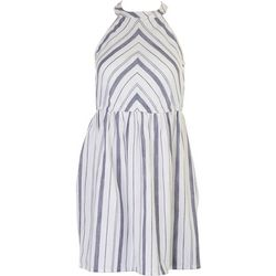 Derek Heart Juniors Sleeveless Stripe Dress
