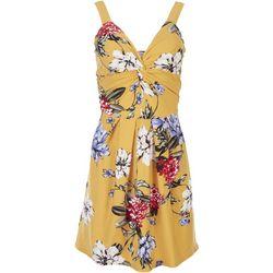 Planet Gold Juniors Floral Sleevless Mini Dress