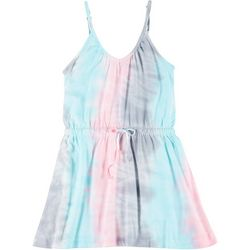 Lagaci Juniors Tie Dye Tank Dress