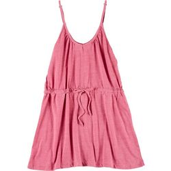 Lagaci Juniors Solid Tank Dress