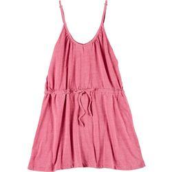 Lagaci Juniors Solid Tank Dress