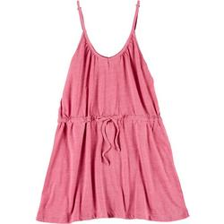 Juniors Solid Tank Dress