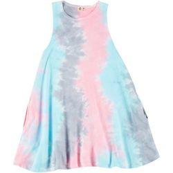 Lagaci Juniors Tie Dye T-Shirt Dress