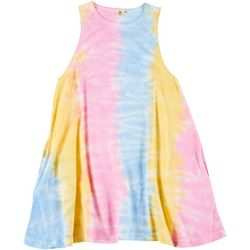 Lagaci Juniors Tie Dye T-Shirt Dress