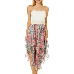 Ardene Juniors Paisley Handkerchief Hem Sundress