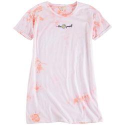 No Comment Juniors Tie-Dye T-Shirt Dress