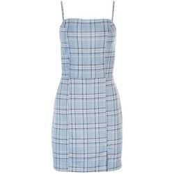 NO COMMENT Juniors Plaid Dress