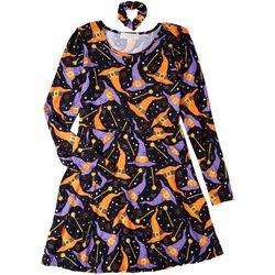 No Comment Juniors Witch Hat 2-pc. Dress