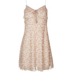 Juniors Floral Flowy Dress