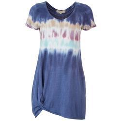 Juniors Tie-Dye T-Shirt Dress
