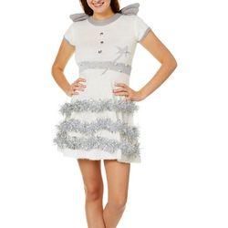 Derek Heart Juniors Christmas Angel Sweater Dress