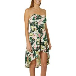 Derek Heart Juniors Tropical Floral Walkthrough Romper