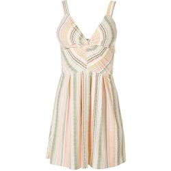Derek Heart Juniors Striped Sleeveless Dress