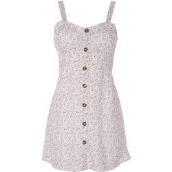 Wallflower Juniors Sleevless Floral Dress