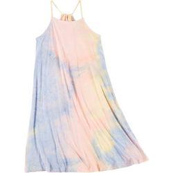 Wallflower Juniors Swing Tie Dye Short Dress