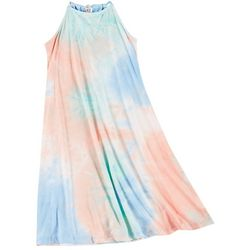 Wallflower Juniors Swing Tie Dye Short Dress
