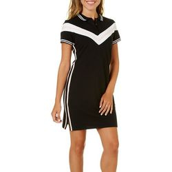Almost Famous Juniors Polo Shirtdress