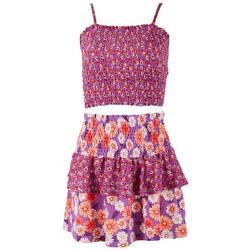 Juniors Fairy Garden Tube Top & Skirt 2-pc. Set