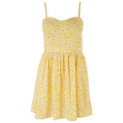 Juniors Sweetheart Floral Sun Dress