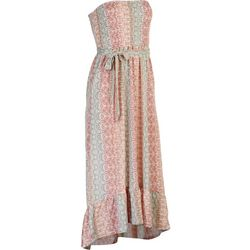 Jolie & Joy Juniors Printed Tye Summer Maxi Dress