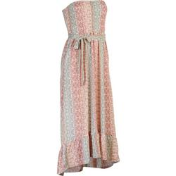 Juniors Printed Tye Summer Maxi Dress