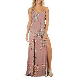 Polly & Esther Juniors Floral Open Back Maxi Dress