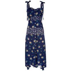 Angie Juniors Button Down Floral Dress