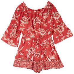Angie Juniors Floral Boho Jumpsuit