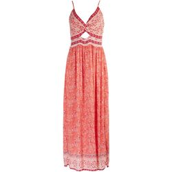 Angie Juniors Floral Maxi Dress