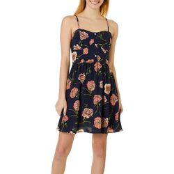 Juniors Floral Print Sundress