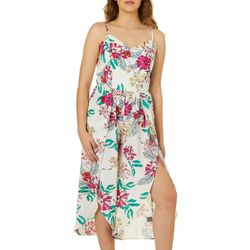 Bailey Blue Juniors Floral Gaucho Jumpsuit