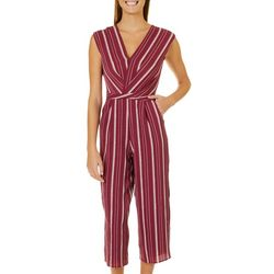 3a24a6852b3d Speechless Juniors Striped Crop Jumpsuit