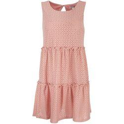 Speechless Juniors A-Line Tiered Dress