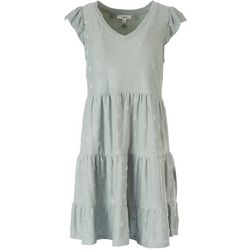 Mine Juniors Dotted Textured Dress