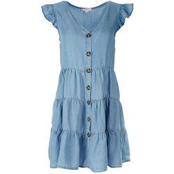 Mine Juniors Tencel Denim Dress