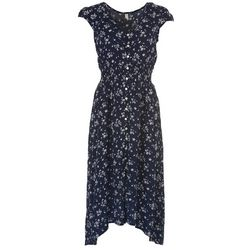 Be Bop Juniors Floral Button Midi Dress