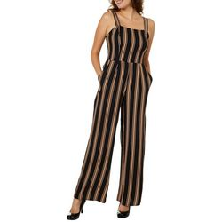 67ad5a1caea6 Be Bop Juniors Striped Wide Leg Jumpsuit