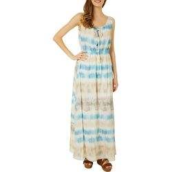 Be Bop Juniors Sleeveless Tie Dye Maxi Dress