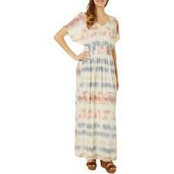 Be Bop Juniors Horizontal Pattern Maxi Dress