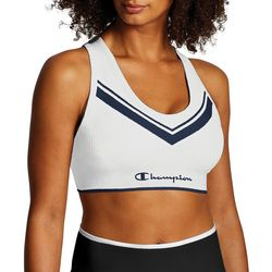 Champion Womens The Sweatshirt Chevron Racerback Sports Bra