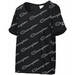 Champion Womens Heritage Print Short Sleeve T-Shirt