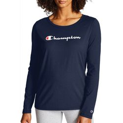 Champion Womens Classic Graphic Long Sleeve T-Shirt