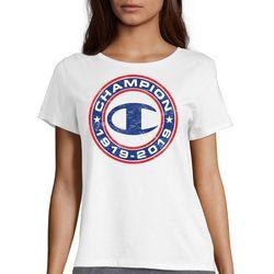 Champion Womens 1919-2019 Logo Anniversary T-Shirt