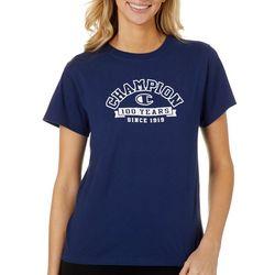 Champion Womens Anniversary 100 Years Graphic T-Shirt