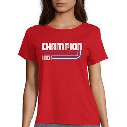 Champion Womens Anniversary 100 Years T-Shirt