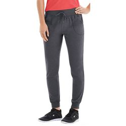 Champion Womens Jersey Drawstring Jogger Pants
